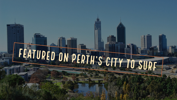 Featured on Perth's City to Surf Website