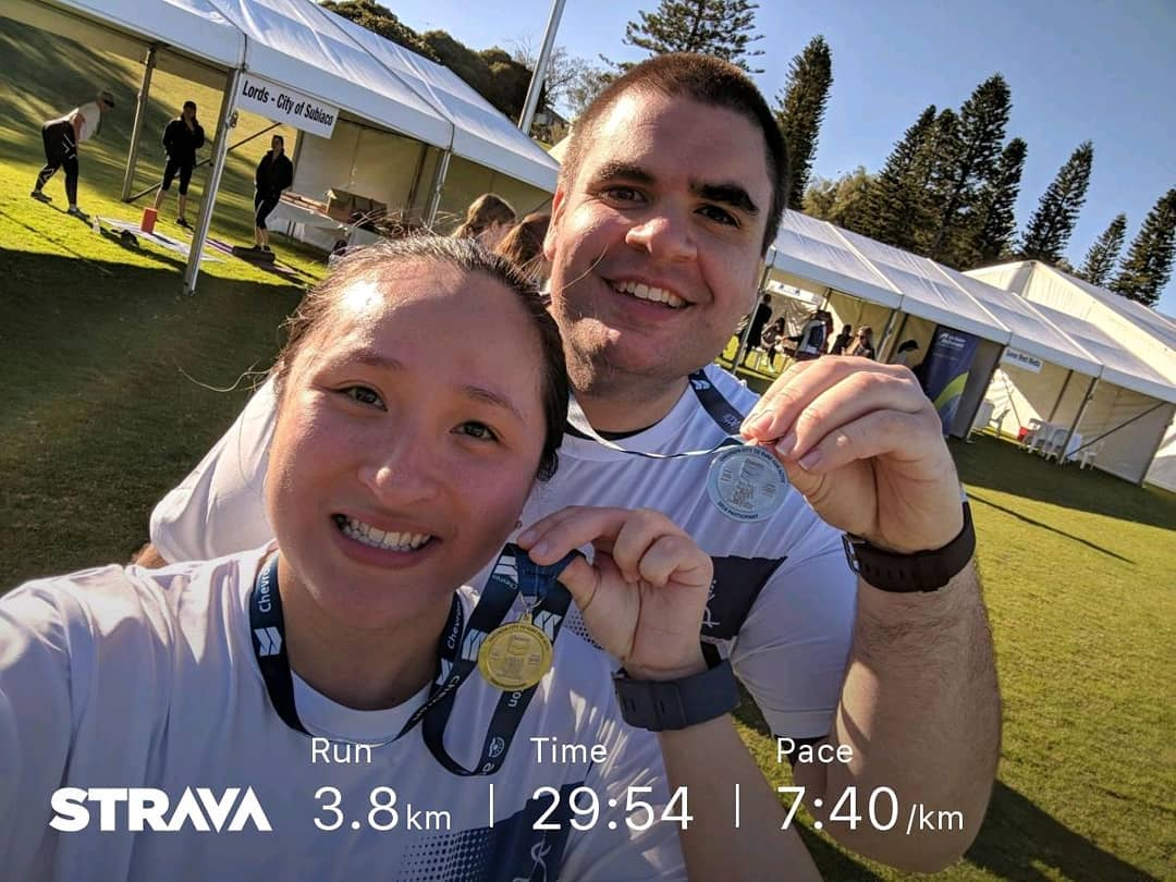 Strava Results - Perth City to Surf 2018