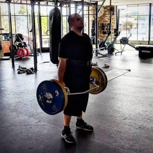 Dead-lifting training